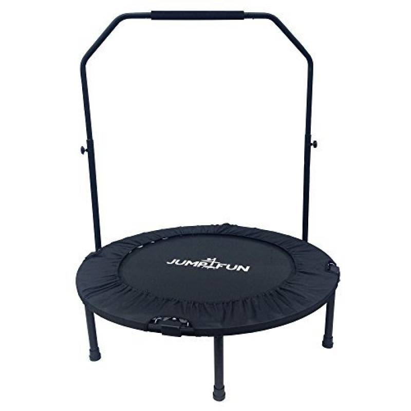 Mini Trampoline Fitness Jump4fun Double-Bar Pliable (Noir, 92) de la marque JUMP4FUN TOP 1 image 0 produit